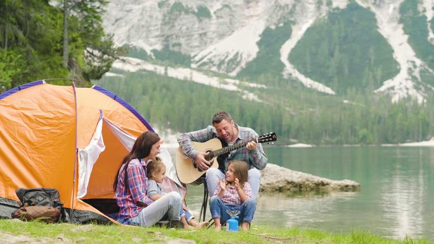 Le camping en famille, que des avantages